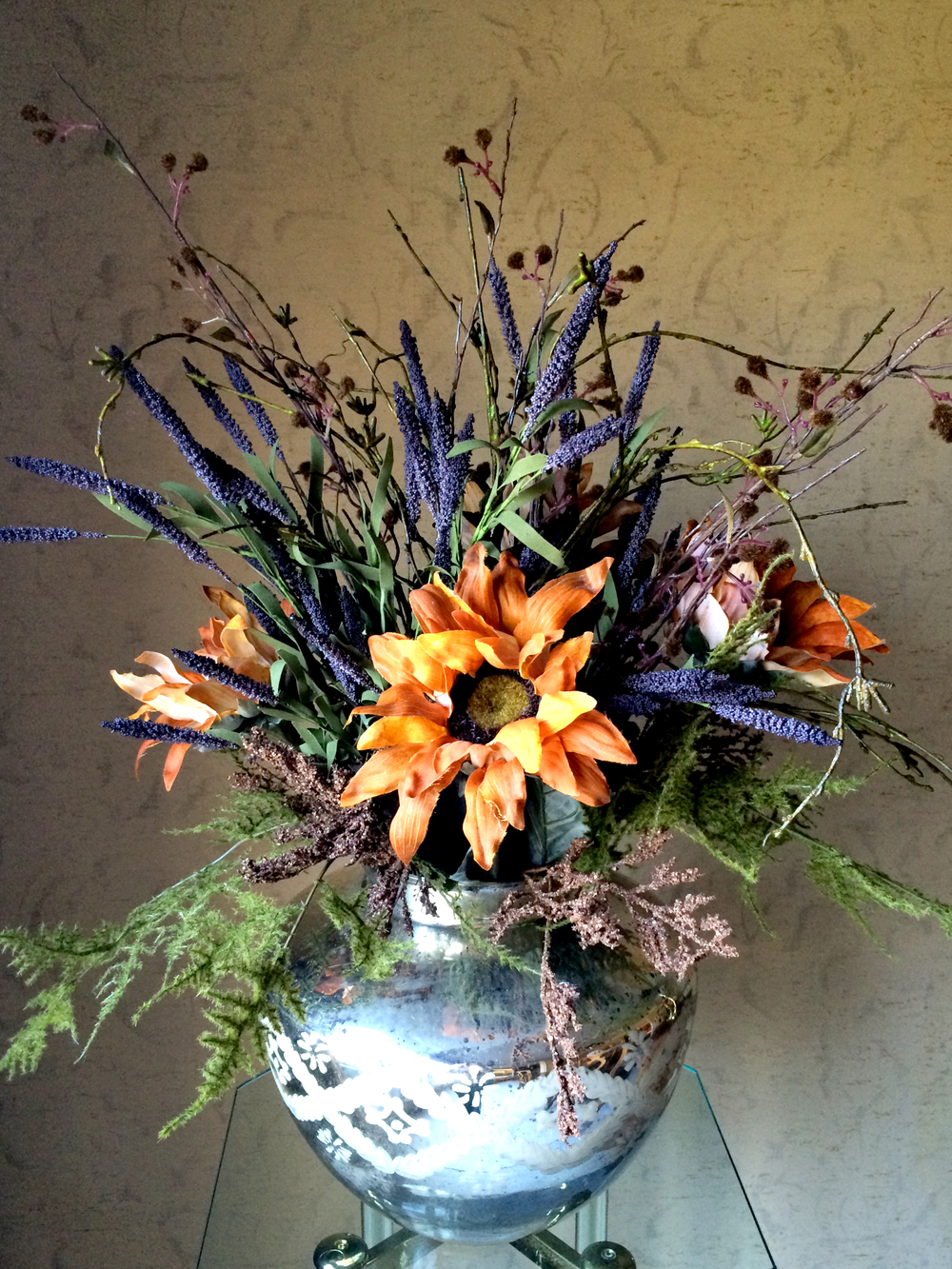 Fall Floral Piece (Sugar & Roses) 01