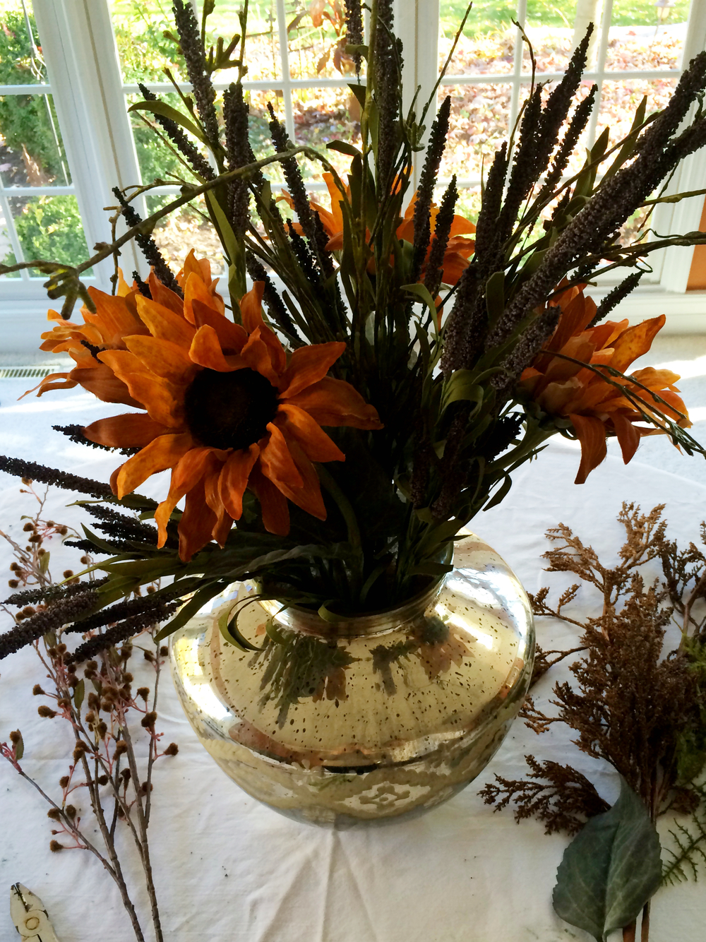 Fall Floral Piece (Sugar & Roses) - Part 3