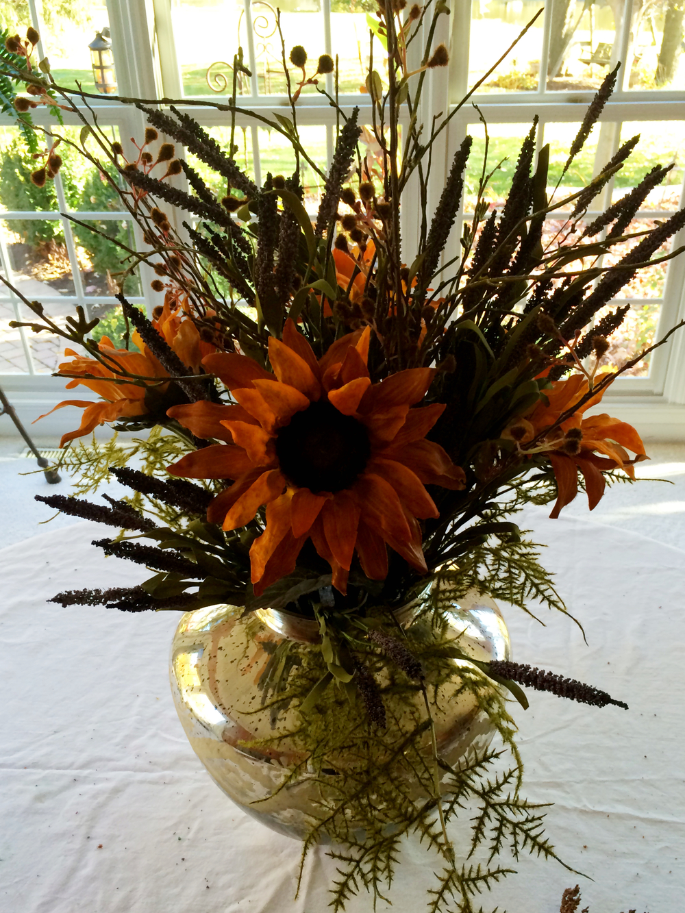 Fall Floral Arrangement (Sugar & Roses) - Part 5