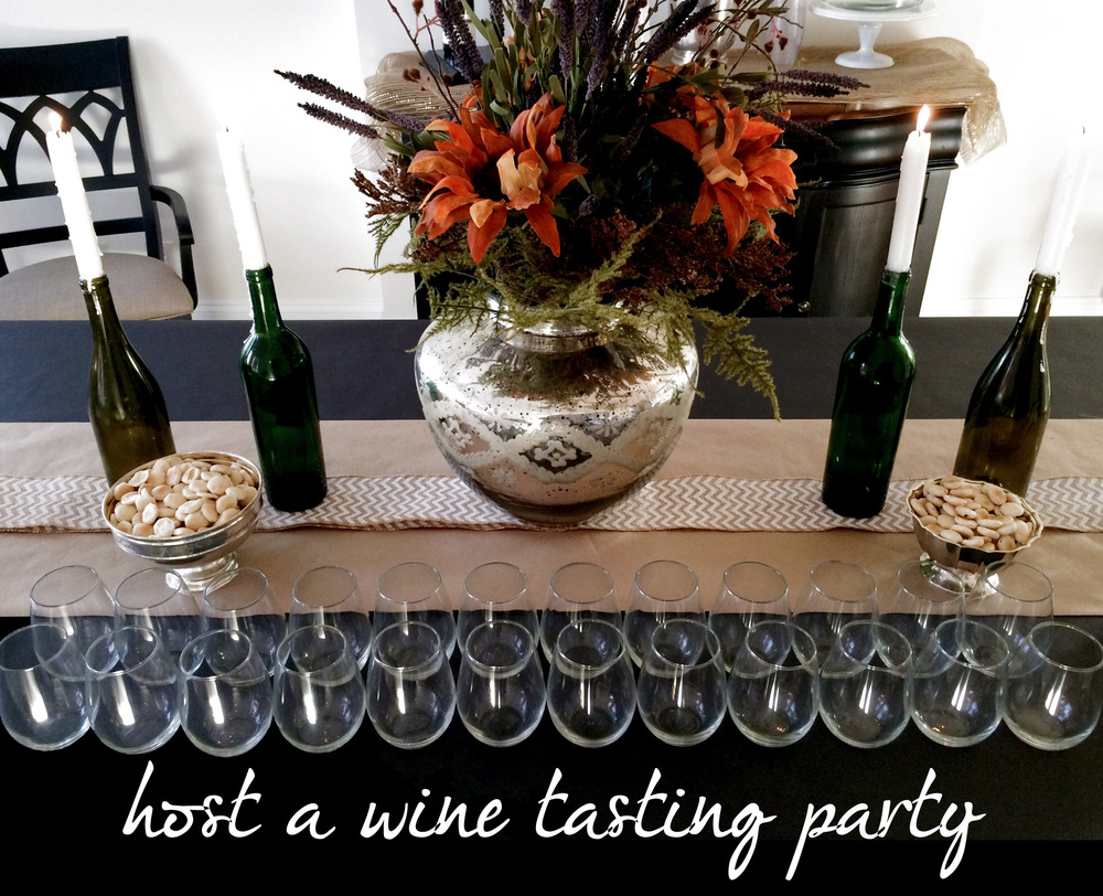 Host a Wine Tasting Party (Sugar & Roses) - Title