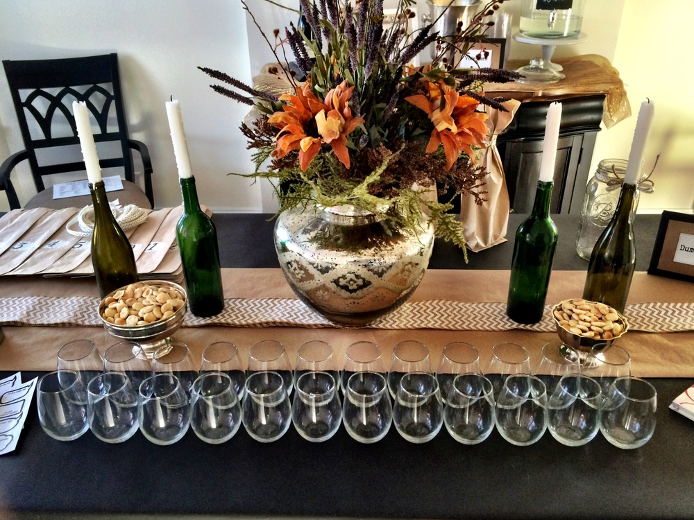 Host a Wine Tasting Party (Sugar & Roses) - Table