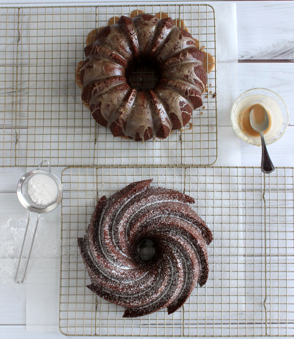 Black Russian Kahlua Bundt Cake (Sugar & Roses)