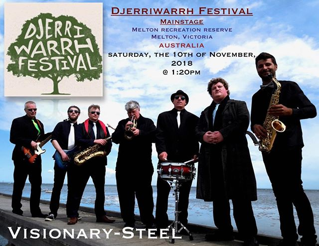 Psyched to be with the good mates performing this weekend, the 10th of November,at the Djerriwarrh Festival! Hope to see you there - M
