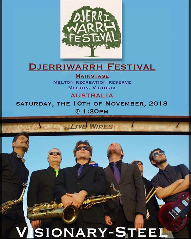 Looking forward to this Saturday, 10 November, for great music and sun at the Djerriwarrh Festival!