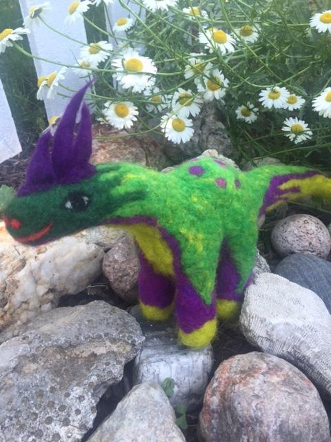 Verdi. A dragosaurus.