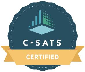 C-SATS Certified