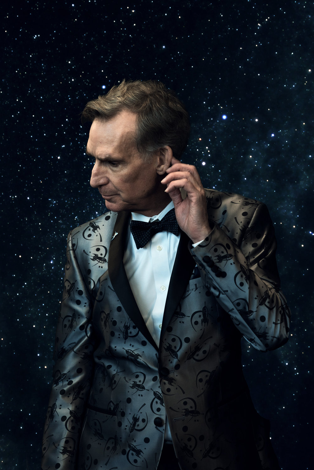 The man himself! Billy Nye was one of the presenters for Nick Graham's show at NYFW, inspired by science and our solar system. I grabbed a couple quick shots with him backstage and thought it space would be an appropriate backdrop for him. Shot on my Sony A7RII w/ Sony 24-70 2.8 G Master | ISO 250 | 1/125s | f/2.8