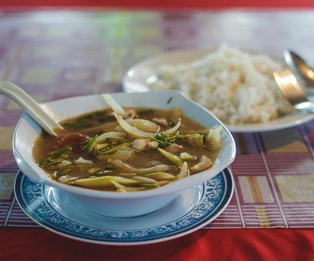 Make sure to grab an authentic Tom Yam soup next time you visit Malaysia. It is as delicious as it is spicy - and the perfect dish to soak the rice  #travel #travelgram #traveblog #soup #food #foodporn #travelfood #tomyam #yumyum #malaysia #asia #cooking