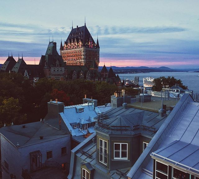 Can you believe that #view from the room !!! #quebec #chateaufrontenac #visitquebec #canada #explorexanada #tourismquebec #qc #quebecoriginal #travel #travelphotography #seetheworld