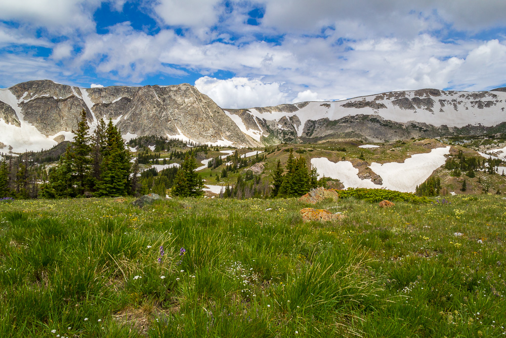 Medicine Bow Peak, Snowy Range, Wyoming