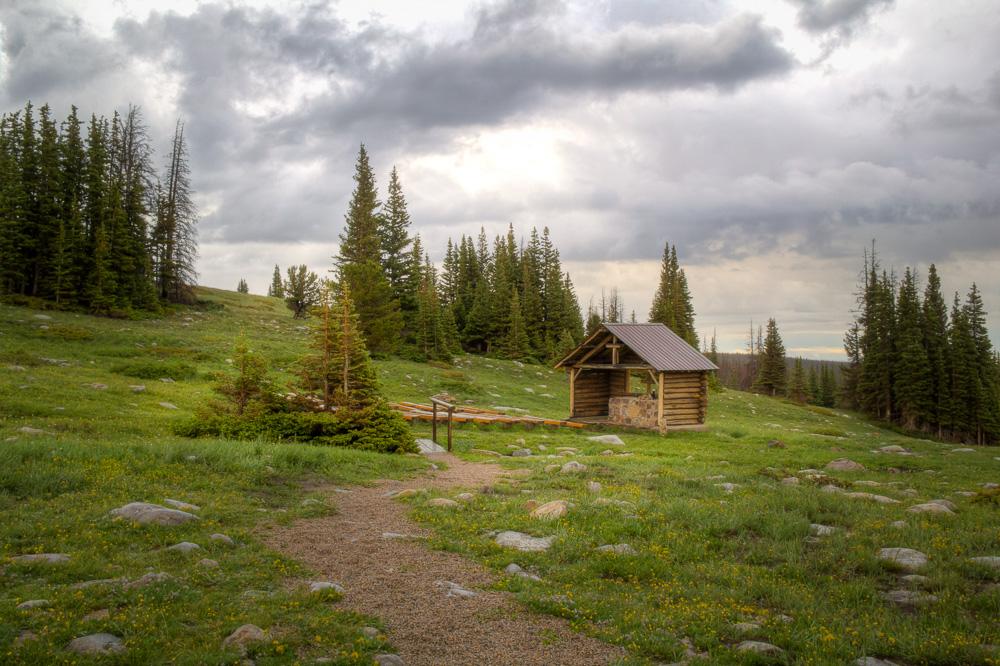 St. Albans Chapel, Snowy Range, Wyoming