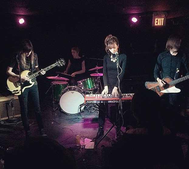 Overnight at Duffy's Tavern, Feb 28, 2015      Photo credit: Bryan Lee O'Malley