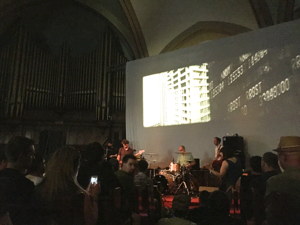 Godspeed You! Black Emperor played this gorgeous church!