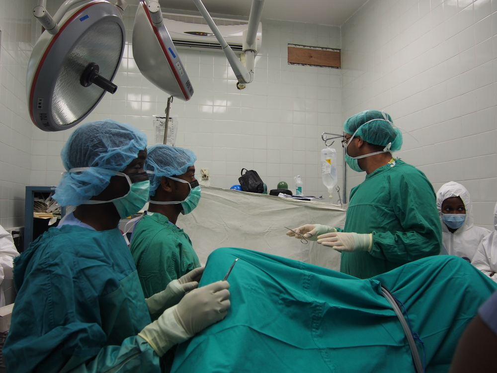 Performing a Surgical Timeout to enhance patient safety