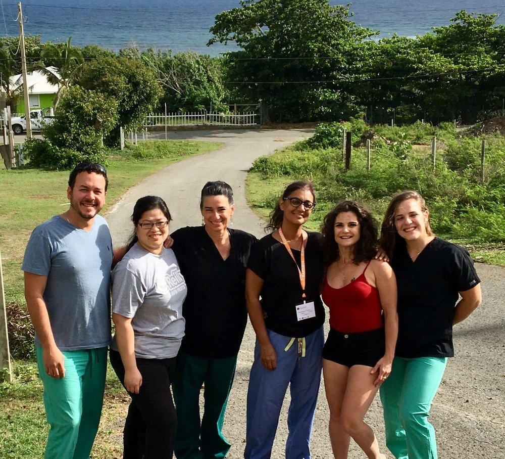 IMR team in Vieques