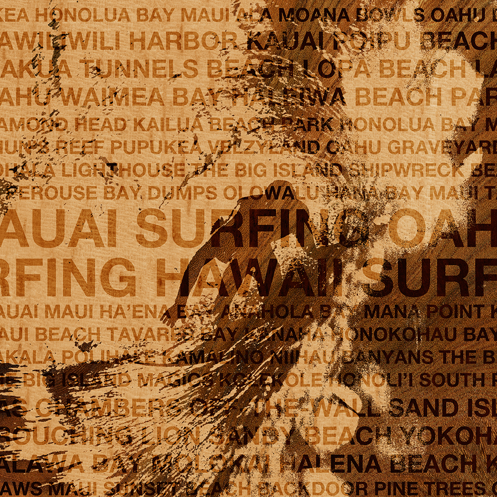 Surfing Hawaii, The Green Room, Hawaiian Surfing Design
