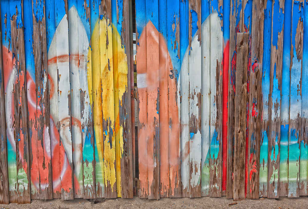 Weathered Surfboards