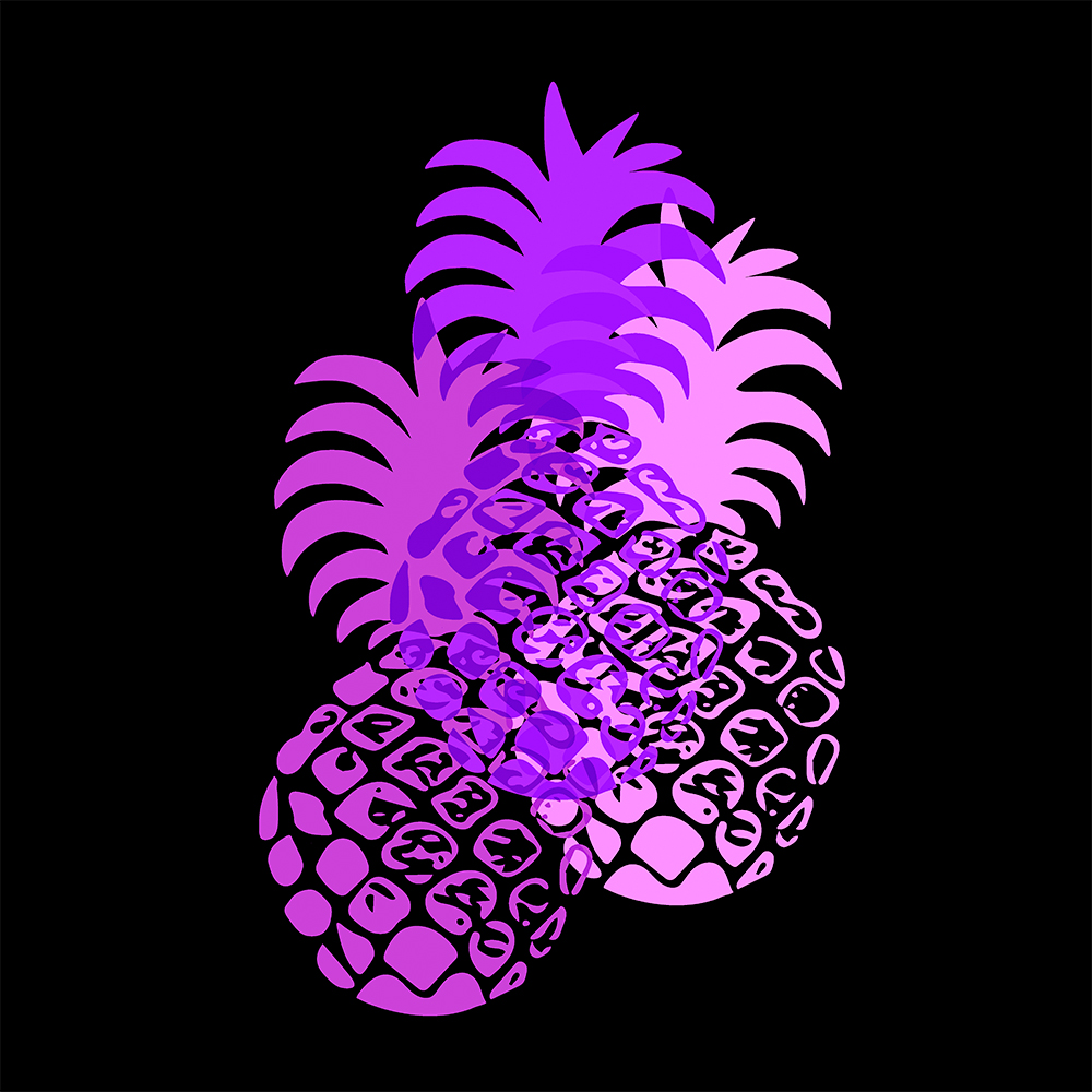 Momona Hawaiian Tropical Pineapple - Violet