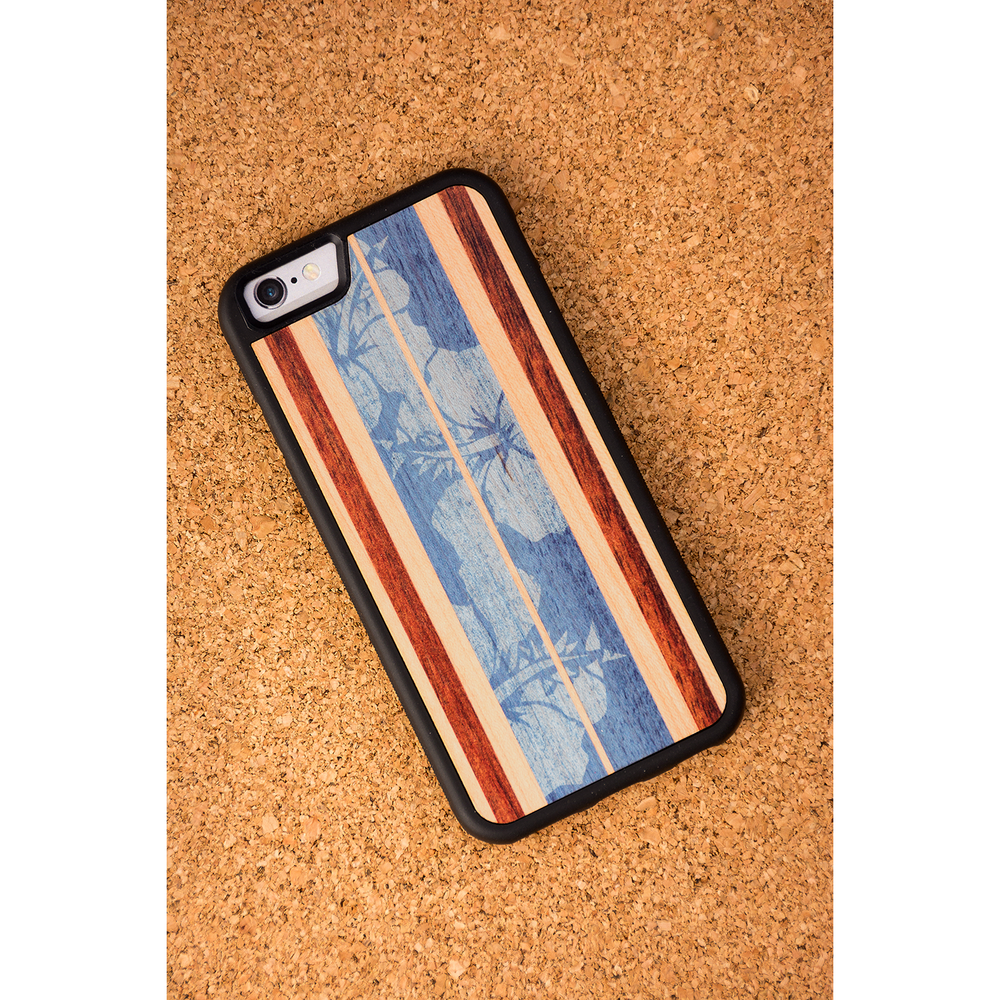 Haleiwa Surfboard iPhone 6/6s Cases from Carved in Blue