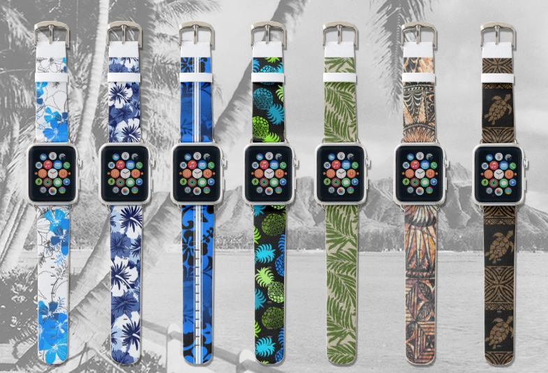 Hawaiian Apple Watch Bands