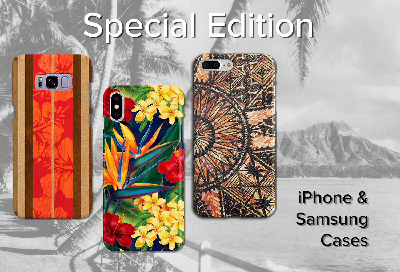 Hawaiian Iphone Cases Ipad Macbook Samsung Galaxy Dus 6 Plus Fullset Acc For X 8 7