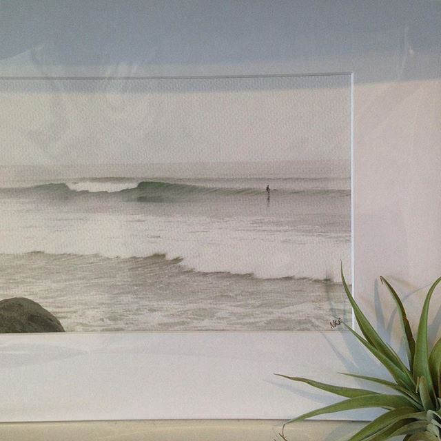 More gorgeous prints from @beachradish #prints #art #walldecor #goodness #photography #surf #beach #sandiego