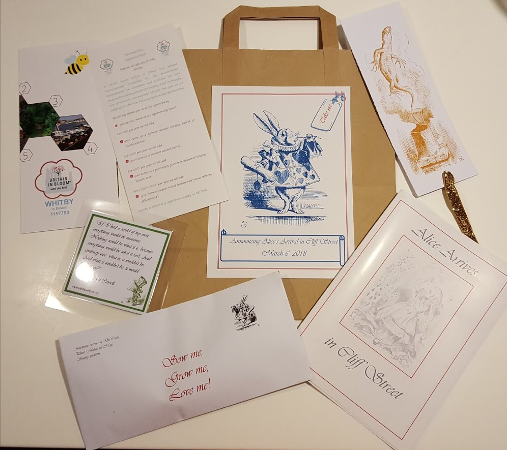 Goody bags for launch