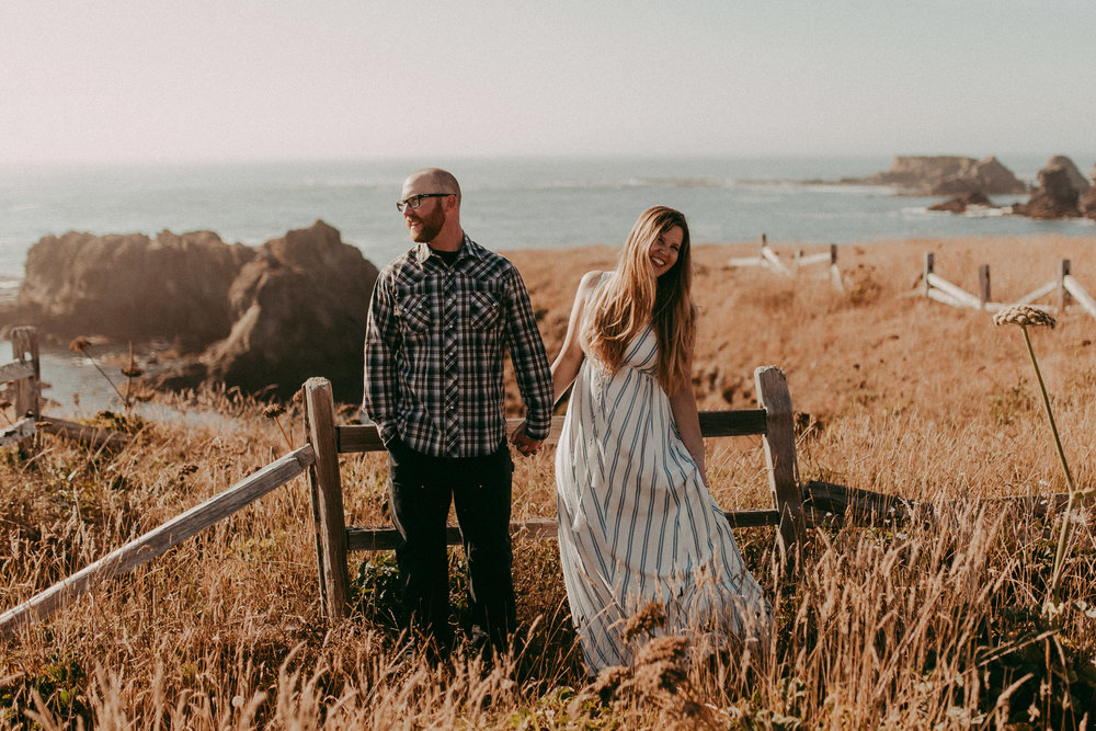 mendocino engagement shoot