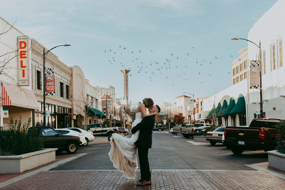 magical modesto wedding