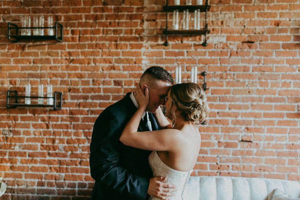 city indoor wedding