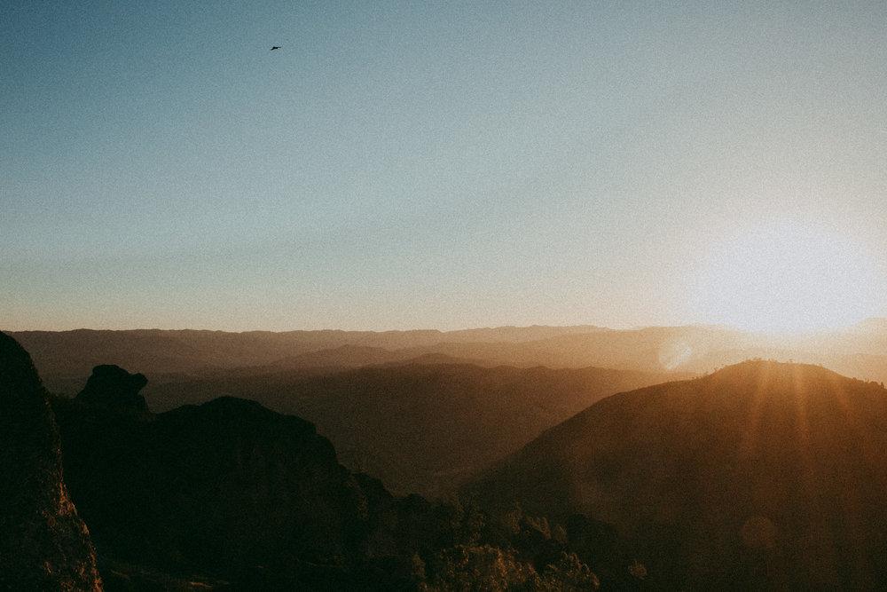 condor sunrise