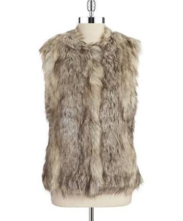 Lord & Taylor.com Tinsel Faux Fur on Sale for $75.60