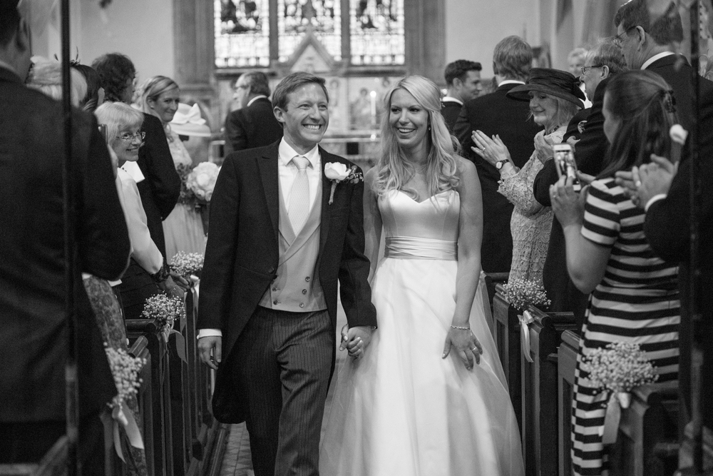Westcott Church Wedding Photography - Harriet & Ali