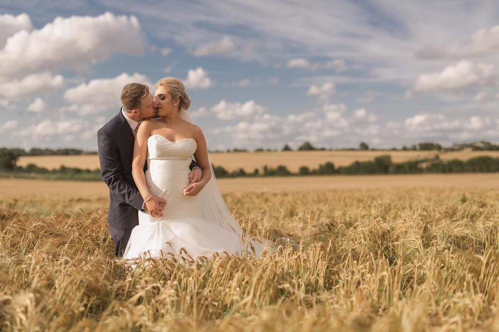 Clock Barn Wedding Photography - Holly & Anton