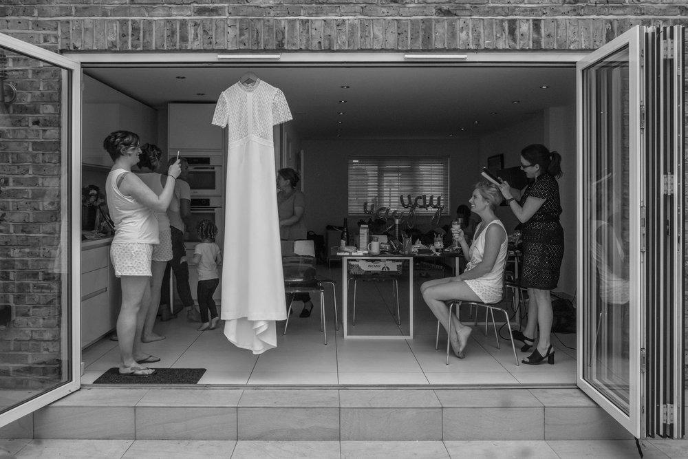Islington Wedding Photography - Gina and Joe