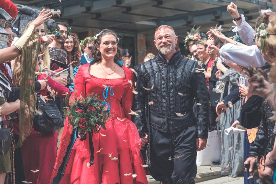 Royal Shakespeare Company Wedding - Emma & Gary