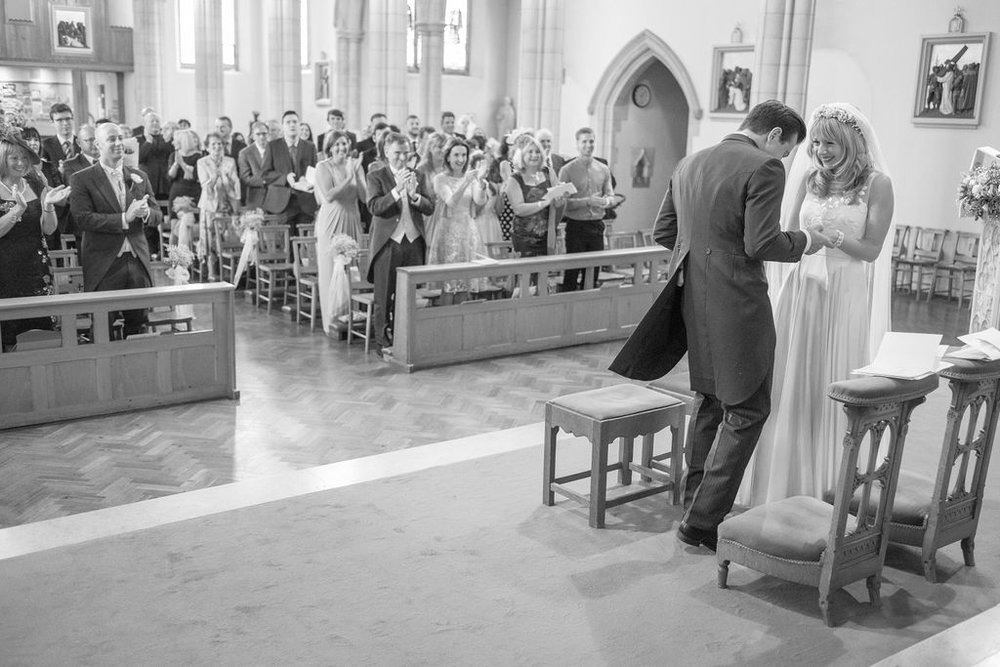 Kayleigh and Tom Wedding - Ceremony -