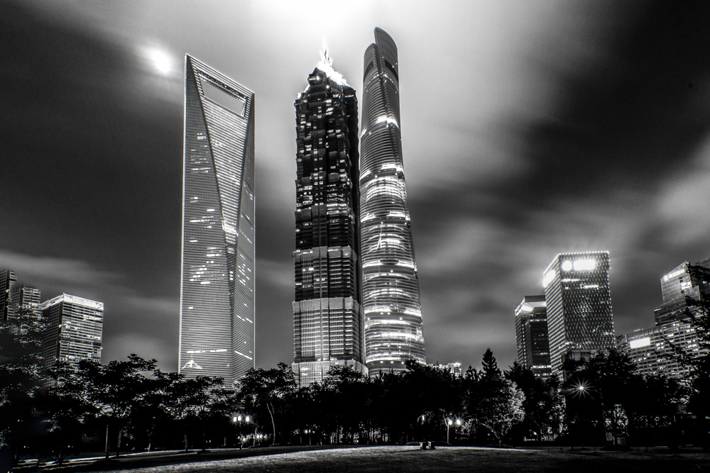 The Big 3 - Shanghai World Financial Center, Jin Mao Tower and Shanghai Tower