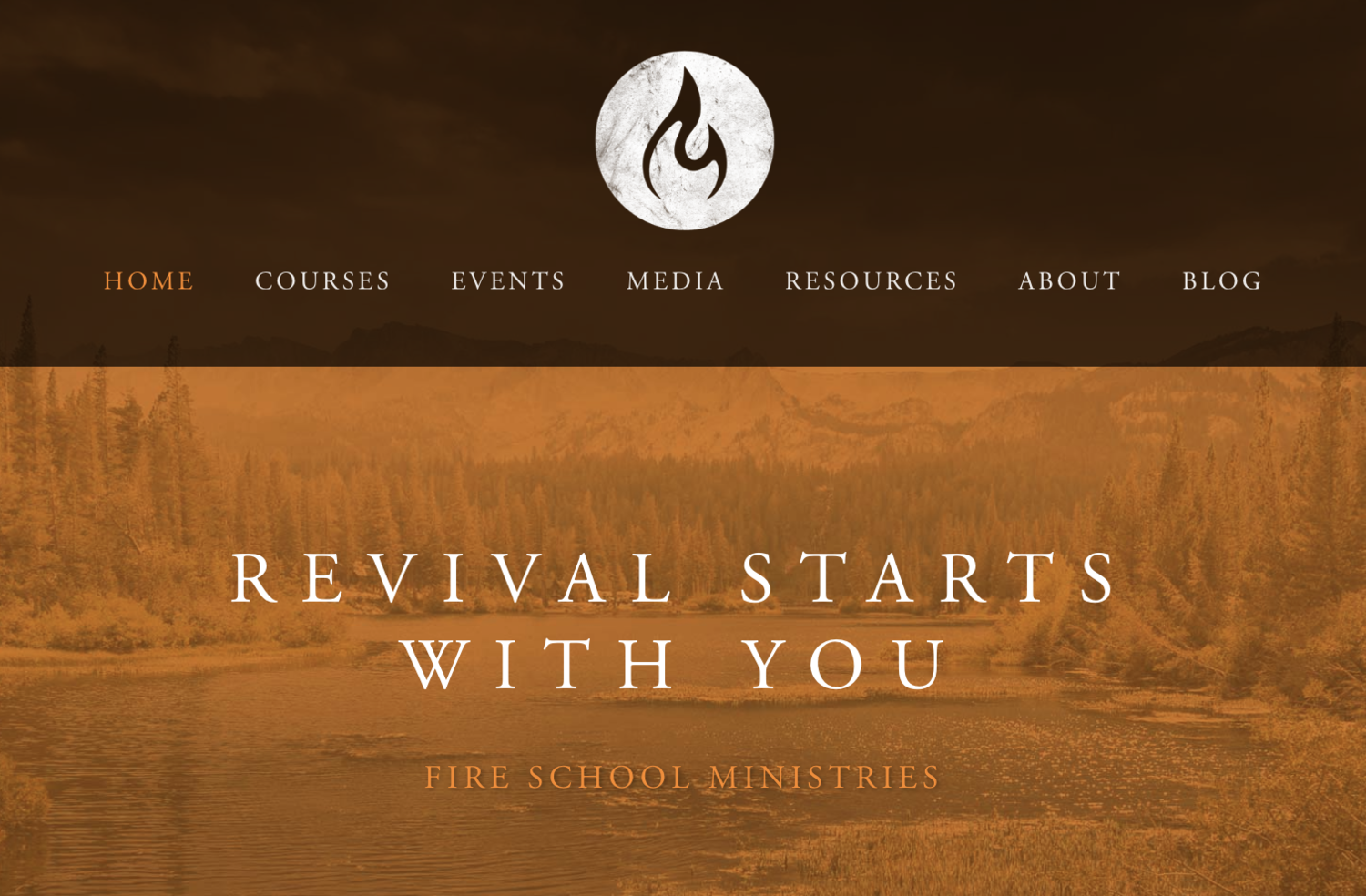 Events Fire School Ministries