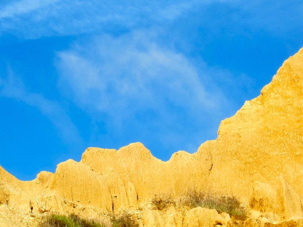 Pinnacles of Sand