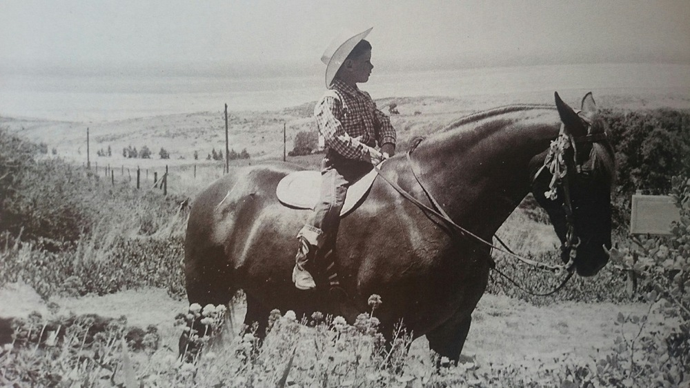 Doyle at the Ranch, age 6