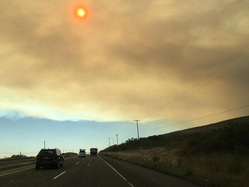 Highway 101 near El Capitan, June 16, 2016