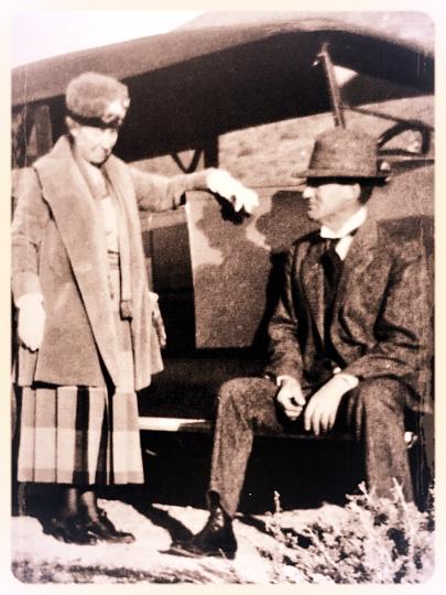 John's Grandparents: Lottie and Jim Hollister