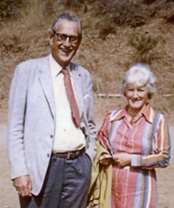 John's Parents: Joe Wheelwright and Jane Hollister Wheelwright