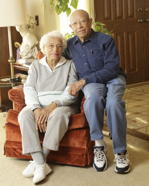 Art with his beloved wife Edith, who passed away in 2014