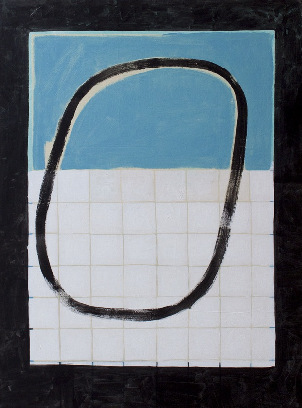 Float, 2014 Acrylic on canvas 48 x 36 inches
