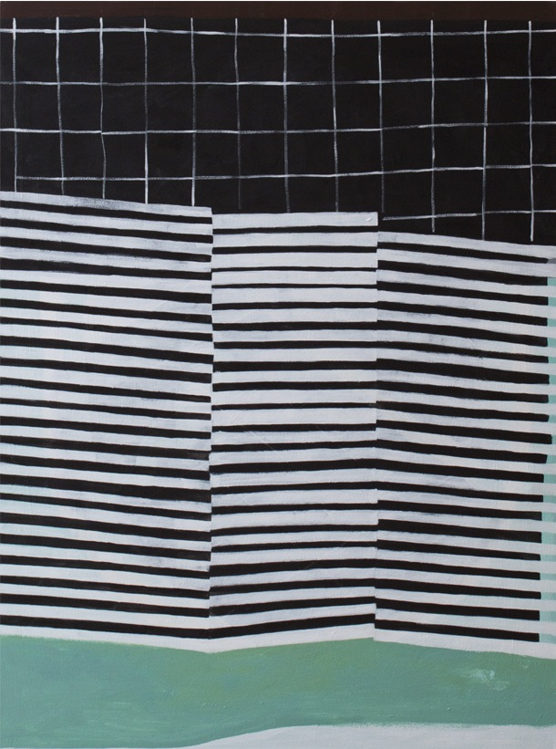 Pool, 2014 Acrylic on canvas 48 x 36 inches