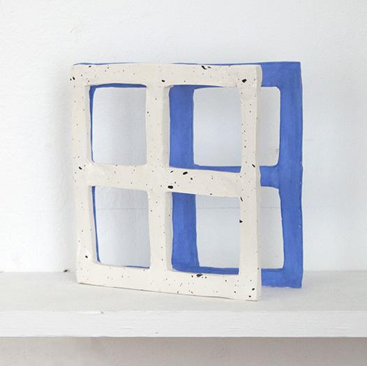 Square Window, 2015 Glazed ceramic