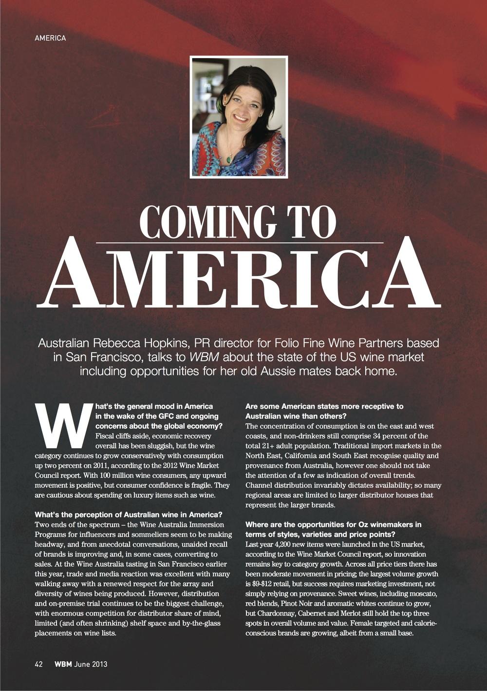 Wine Business Monthly Magazine AustraliaJanuary2014