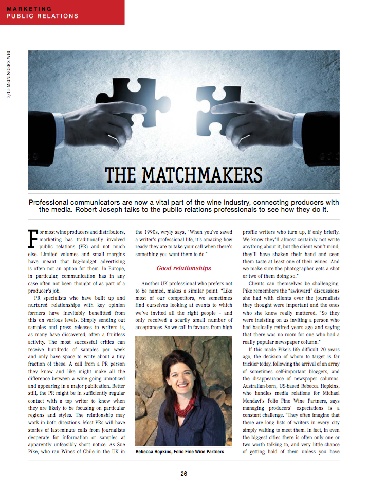 Meininger's Wine Business Magazine
